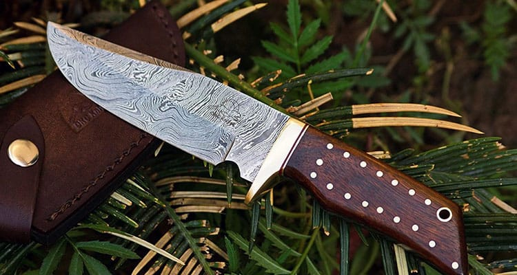 damascus knife for hunting