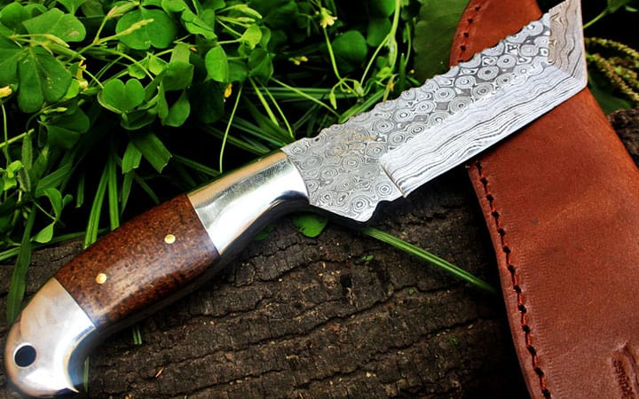 Best Damascus Hunting Knife