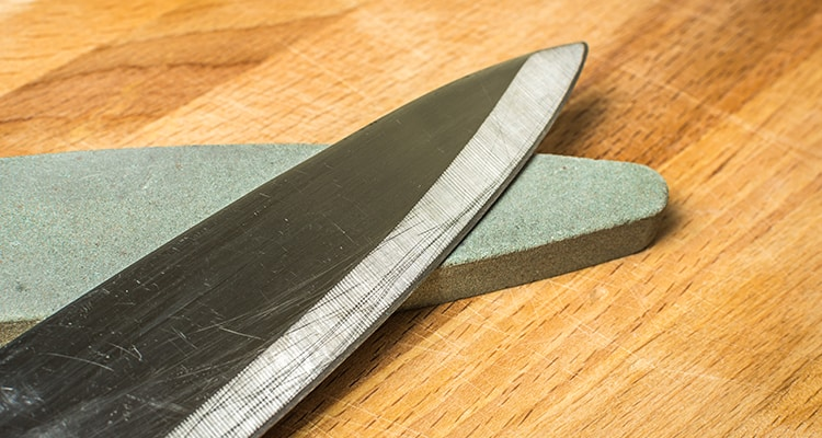 how to sharpen knife