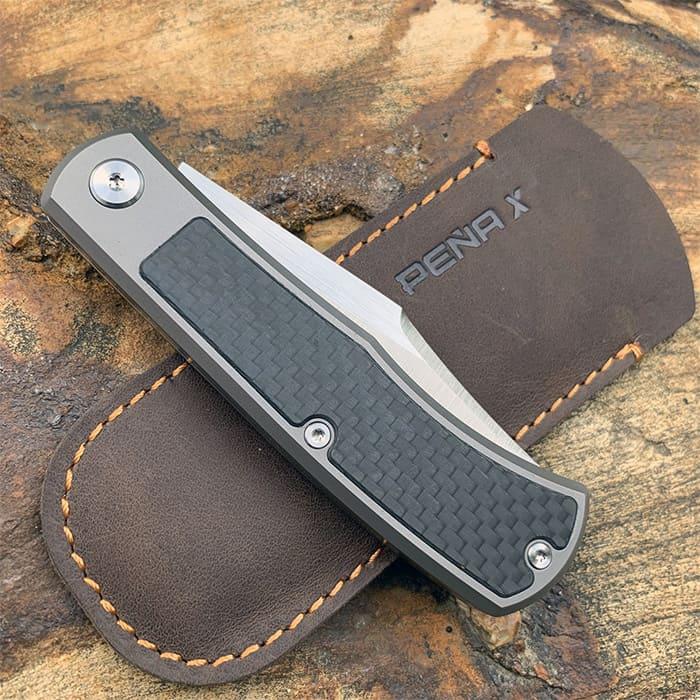 safely close a slip joint pocket knife