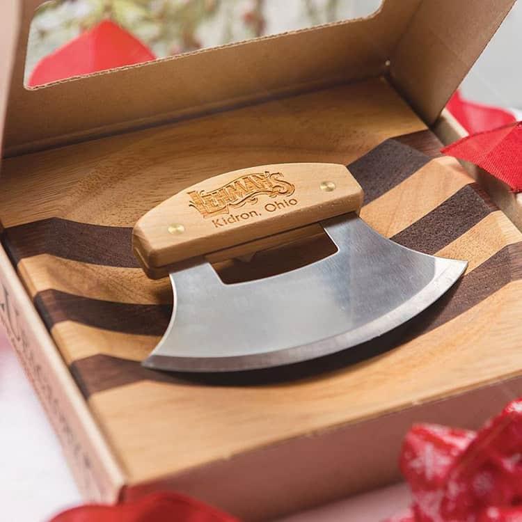 ulu knife and bowl
