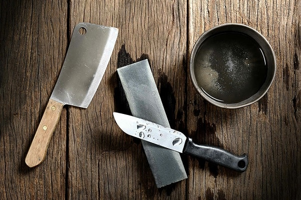 What is a sharpening stone?