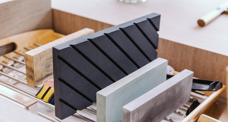 What are the different types of sharpening stone?