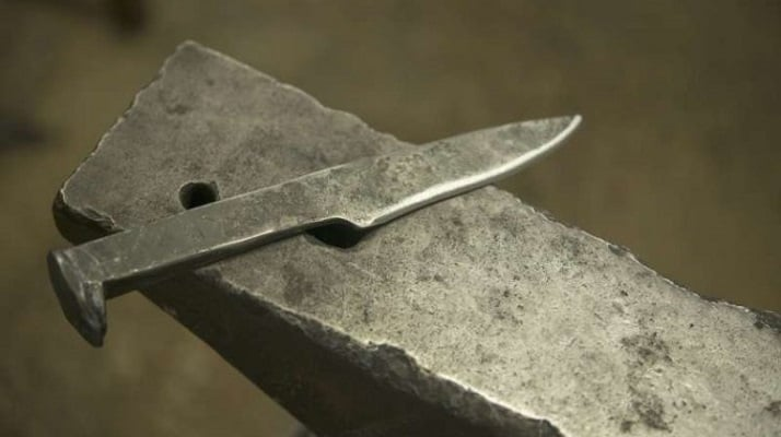 What is a Railroad Spike Knife used for?