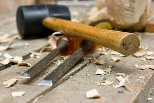 What kind of hammer do you use for a Wood Chisel?