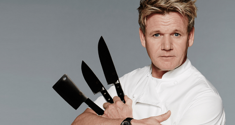 Chef Gordon's favorite knives