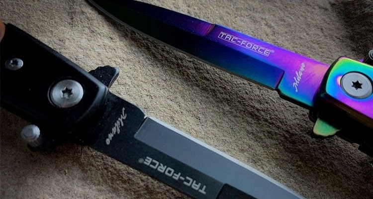 The Difference Between A Stiletto And A Switchblade