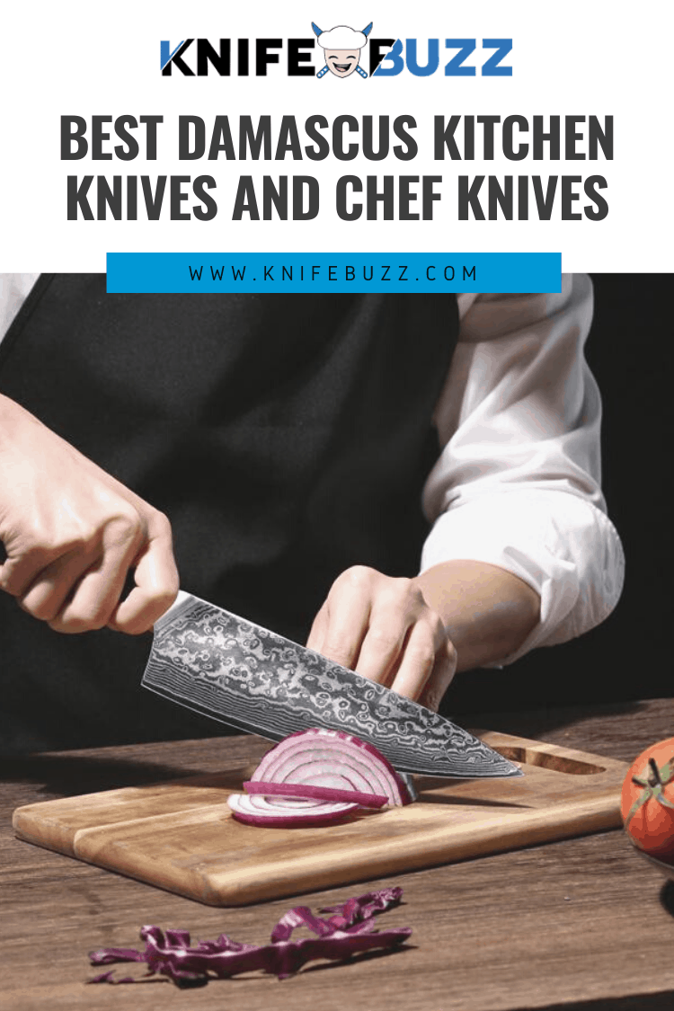 Best Damascus Kitchen and Chef Knives Reviewed