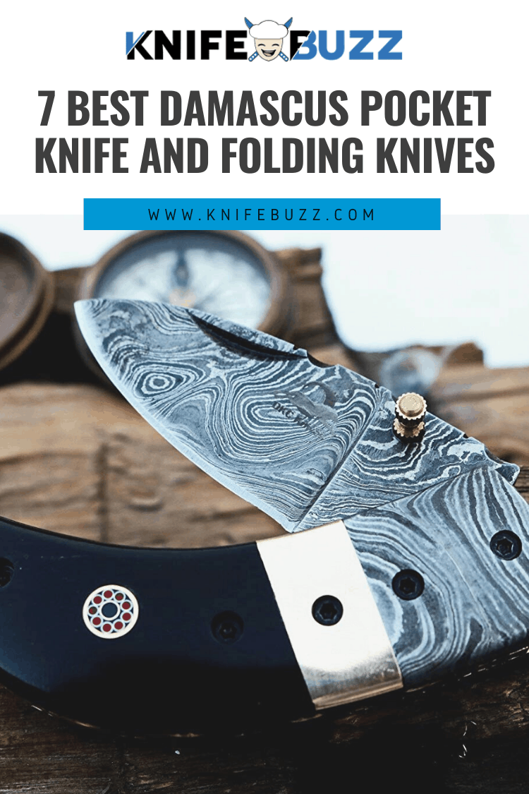 Best Damascus Pocket and Folding Knives Reviewed