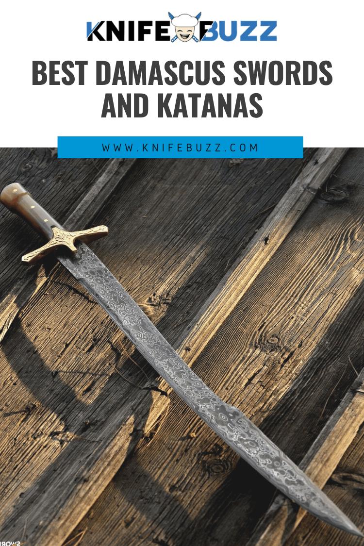 Best Damascus Swords and Katanas Reviewed