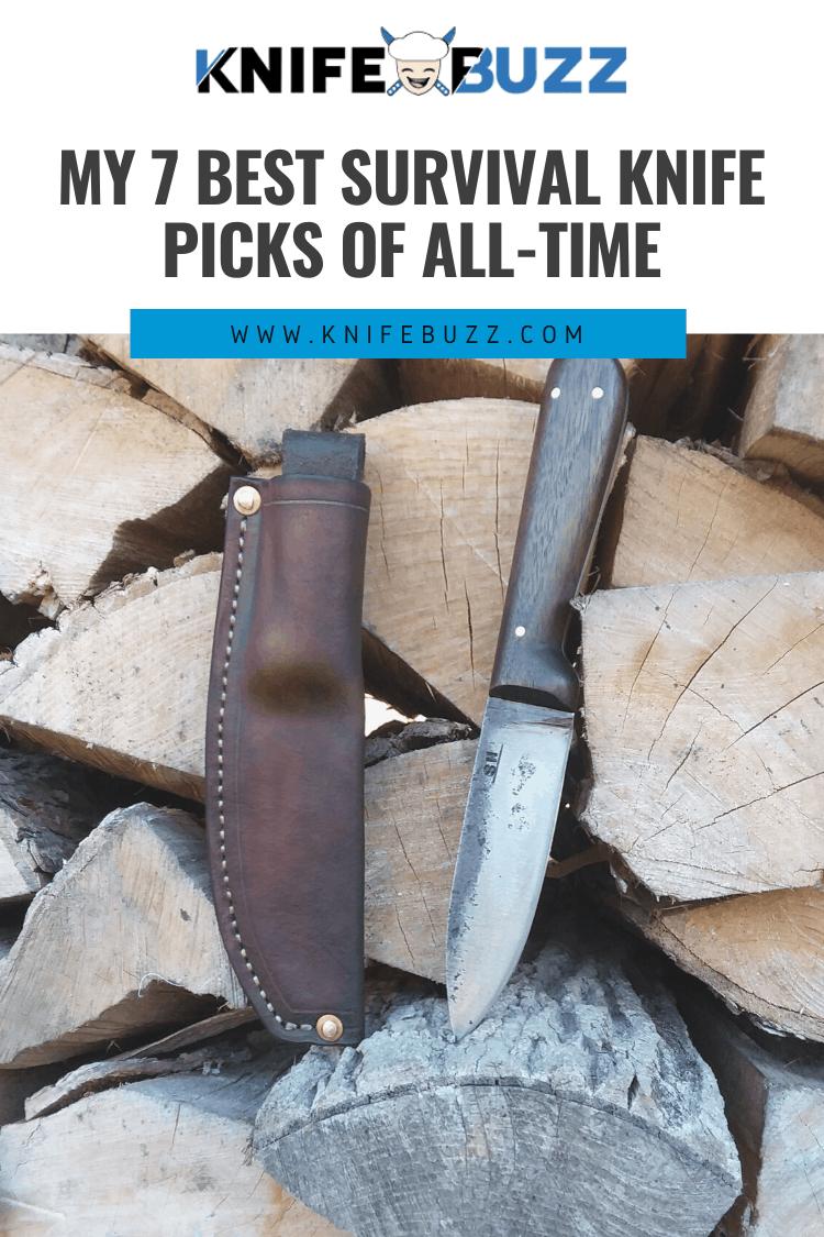 7 Best Survival Knife Picks of All-Time