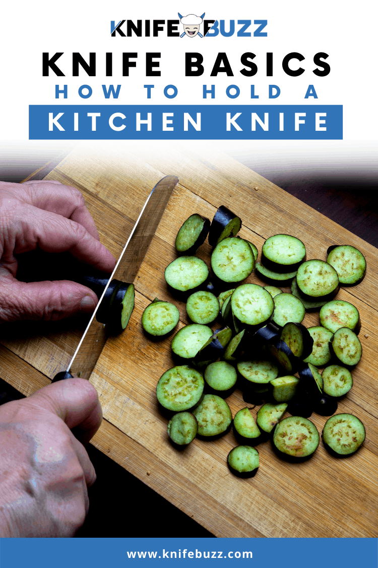 How to hold a knife