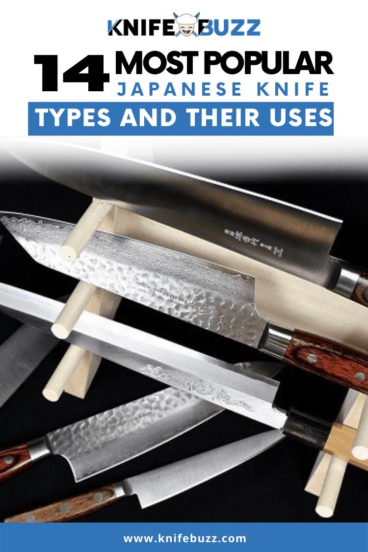 Japanese Knife Types Guide