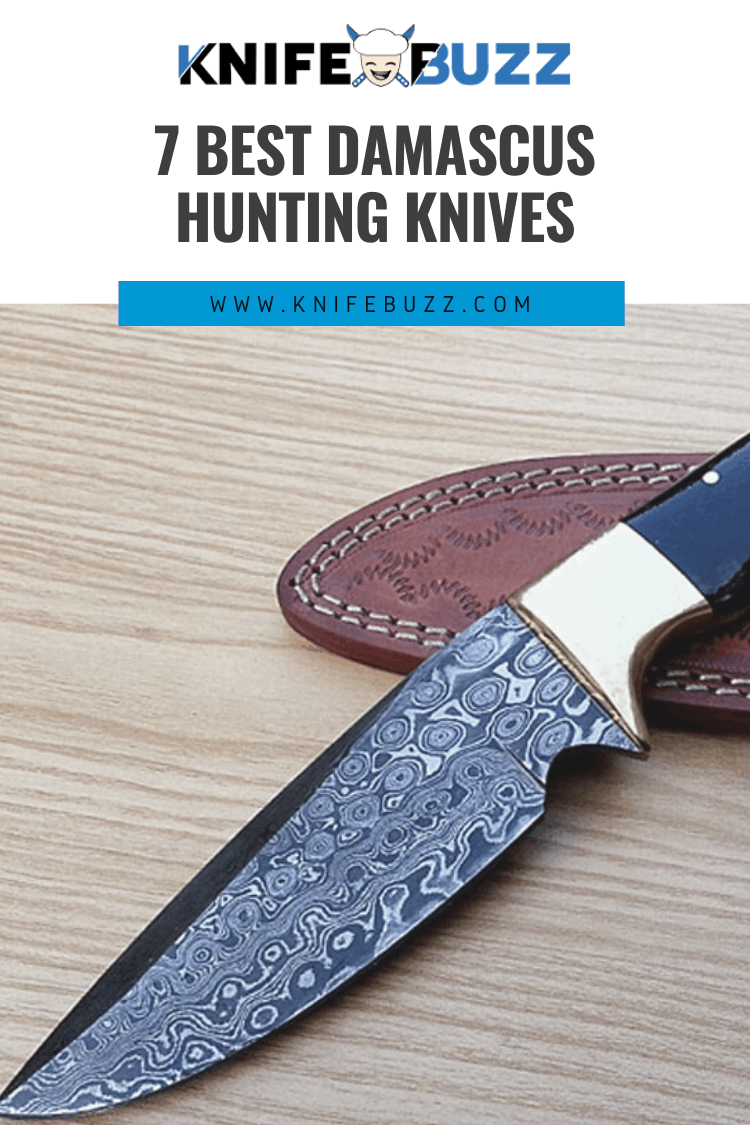 Best Damascus Hunting Knives Reviewed