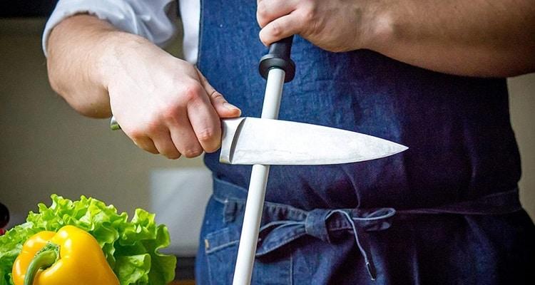 Ceramic Rod Knife Sharpener